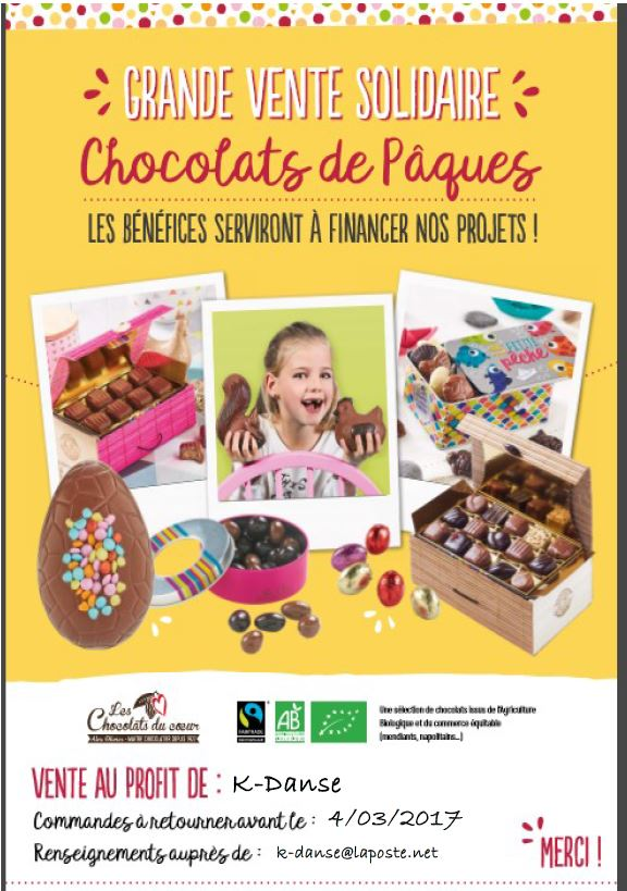 Affiche chocolat kdanse
