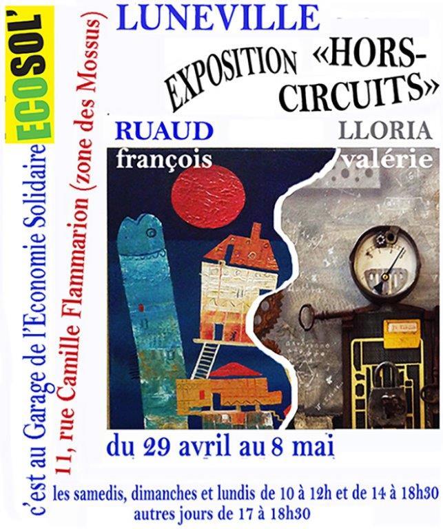 Affiche EXPO E.R. GARAGE